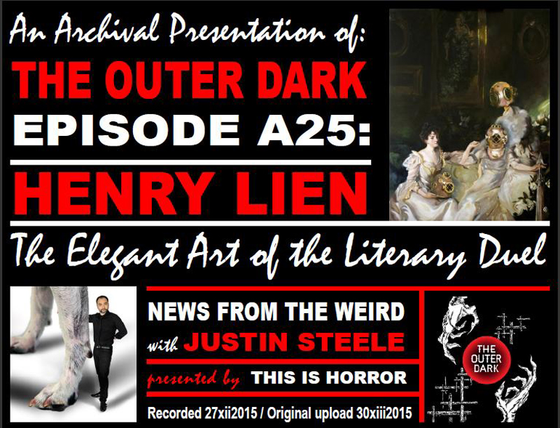 TODA25-Henry Lien The Elegant Art of the Literary Duel