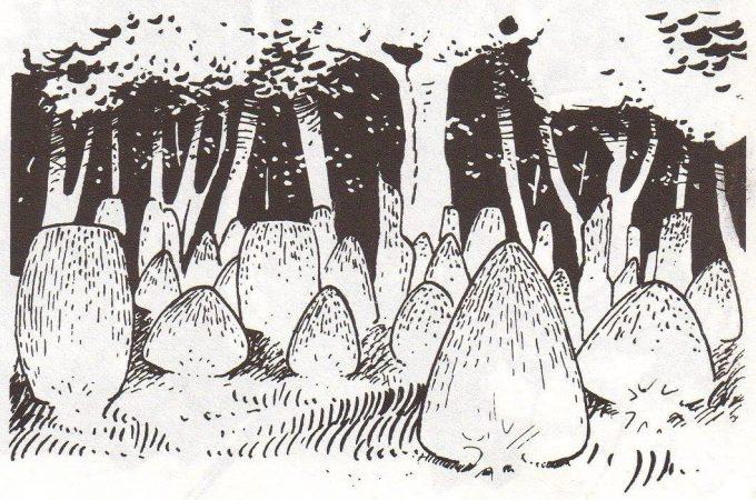 Les Xipéhuz par François Bourgeon, bandes dessinées, 1979.