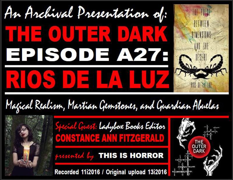 TOD A27 Rios de la Luz Magical Surrealism Martian Gemstones and Guardian Abuelas